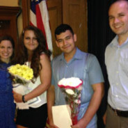 Jason Chavarria and Nicole Smith, Scholarship Recipients