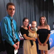 2018 Scholarship Recipients Adam W. and Kelly S.